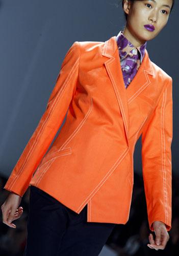 Richard Chai giacca arancione