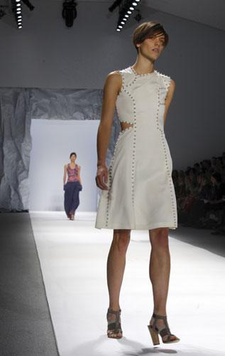 Richard Chai vestito bianco