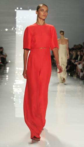 Derek Lam abito lungo rosso