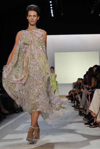Diane Von Furstenberg abito paillettes