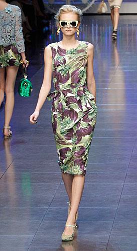 Dolce & Gabbana: Abito con stampe