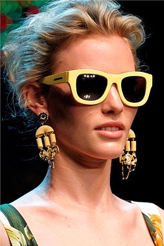 Dolce & Gabbana: Occhiali sole - orecchini