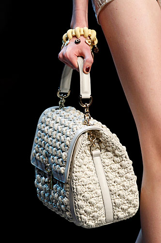 Dolce & Gabbana: Borsa a mano bianca