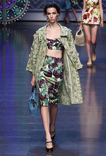 Dolce & Gabbana: Top fascia - gonna vita alta