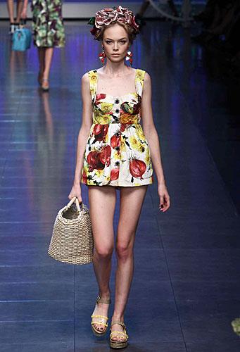 Dolce & Gabbana: Mini abito - turbante