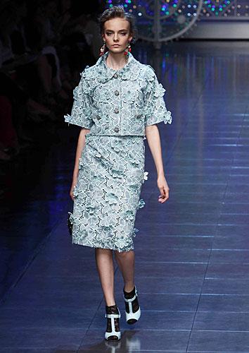 Dolce & Gabbana: Completo giacca gonna