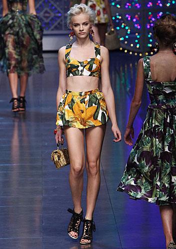 Dolce & Gabbana: Top - gonna palloncino
