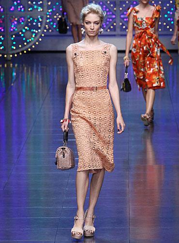 Dolce & Gabbana: Abito tubino - cintura in vita