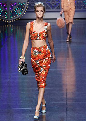 Dolce & Gabbana: gonna vita alta fantasia - pochette