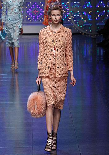 Dolce & Gabbana: Completo gonna - borsa a mano