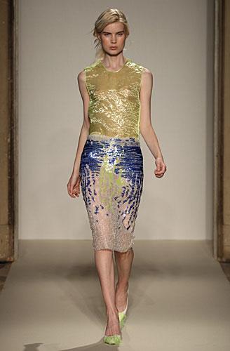 Gabriele Colangelo: abito maglia oro