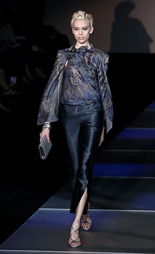 Giorgio Armani: Maglia maniche lunghe - pantaloni