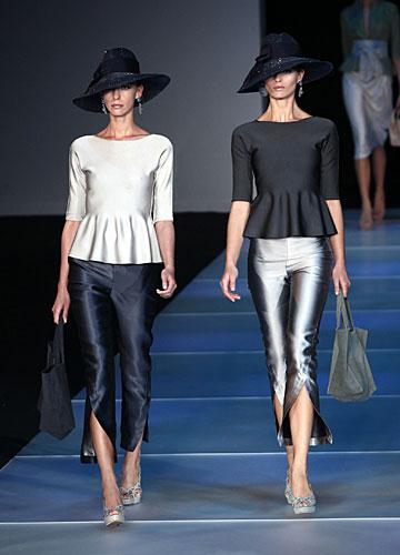 Giorgio Armani: Cappello - maglia maniche lunghe