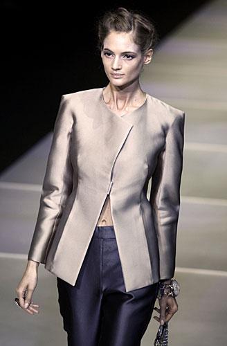 Giorgio Armani: Giacca - pantaloni - pochette