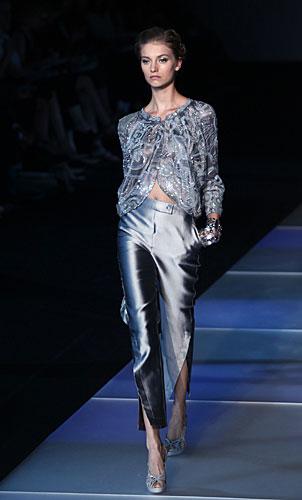 Giorgio Armani: Giacchina preziosa - pantaloni