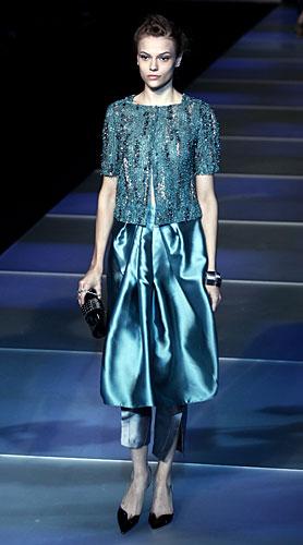 Giorgio Armani: Giacchina preziosa - gonna lunga