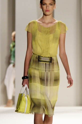 Completo giallo Carolina Herrera