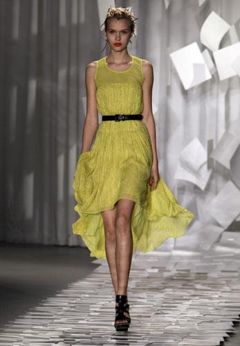 Jason Wu abito giallo