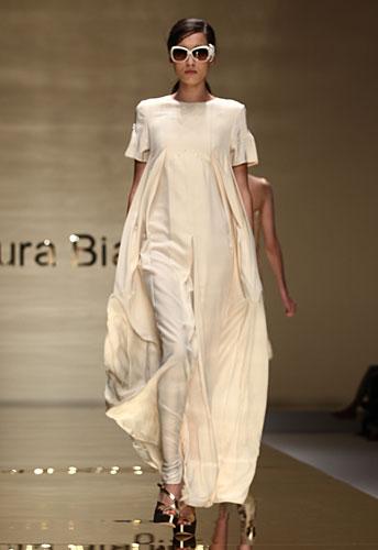Laura Biagiotti: abito lungo maxi gonna