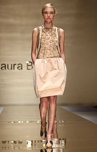 Laura Biagiotti: abito gonna palloncino