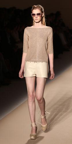 Max Mara: Maglia Maniche Lunghe - Shorts