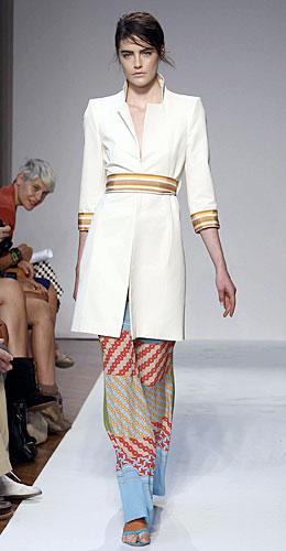 Mila Schon: Cappottino Bianco - Pantaloni