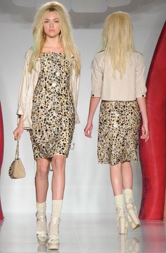 Mulberry:abito corto e giacca