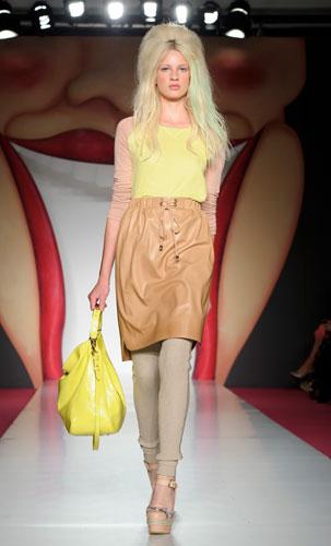 Mulberry:borsa grande gialla