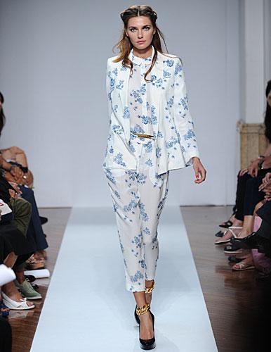 .normaluisa: Completo giacca pantaloni fiori