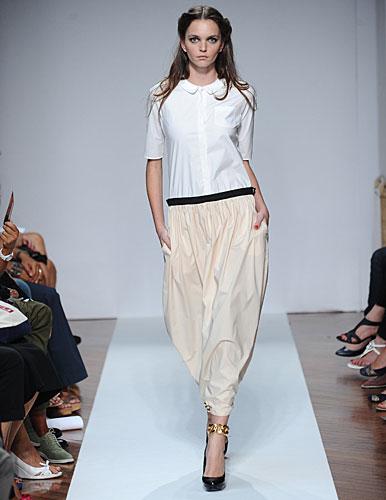 .normaluisa: Camicia bianca - maxi pantaloni