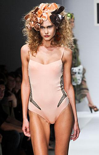 Parah: Bikini rosa antico