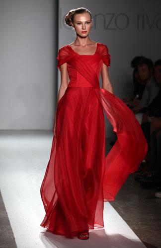 Lorenzo Riva abito rosso
