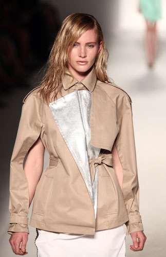 Sportmax giacca  color sabbia