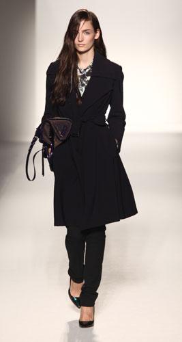 Sportmax: cappotto nero
