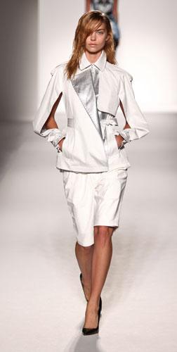 Sportmax: giacca bianca e argento