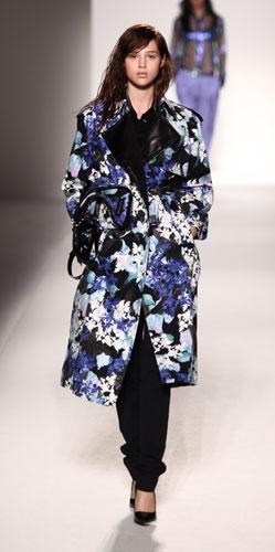 Sportmax: cappotto floreale