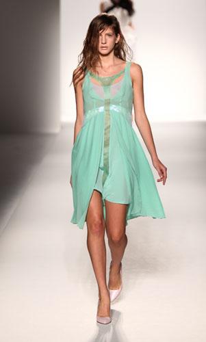 Sportmax: abito verde acqua