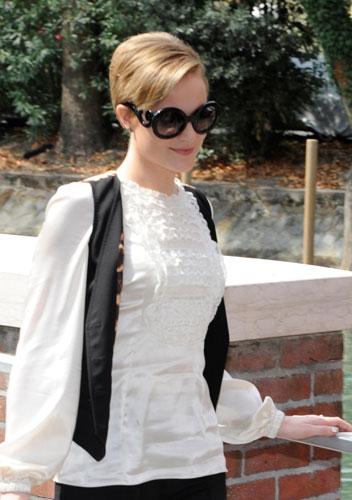 Ewan Rachel Wood con occhiali Prada Baroque