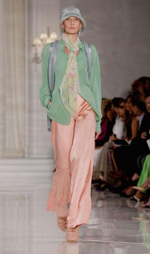Ralph Lauren: pantaloni rosa