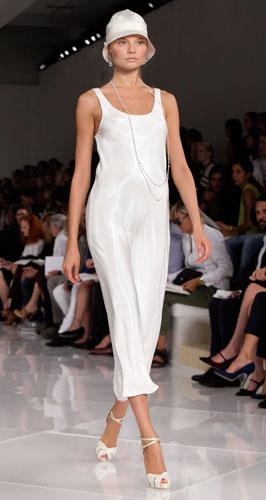 Ralph Lauren: abito lungo bianco