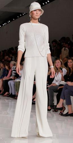 Ralph Lauren: completo bianco