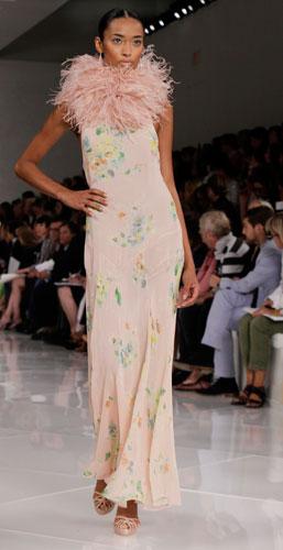 Ralph Lauren: abito fiori