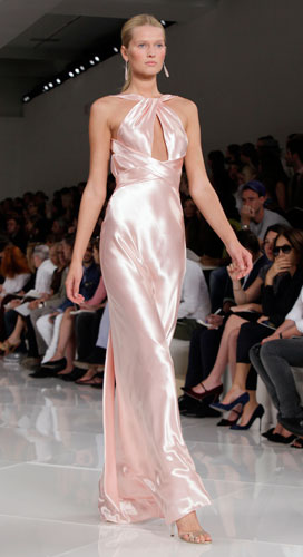 Ralph Lauren: abito da sera rosa
