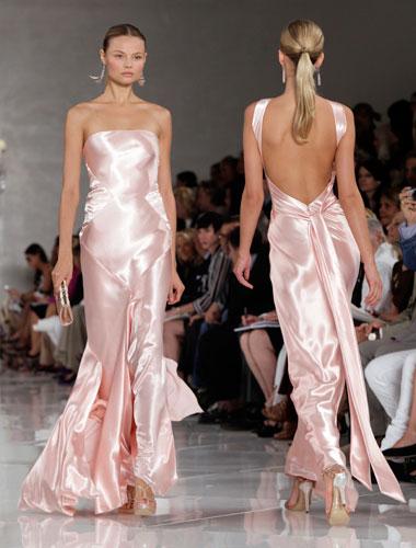 Ralph Lauren: abito seta rosa
