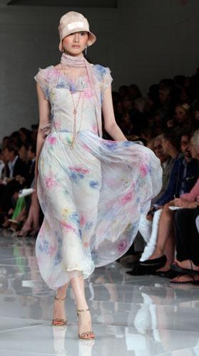 Ralph Lauren: abito leggero fiori