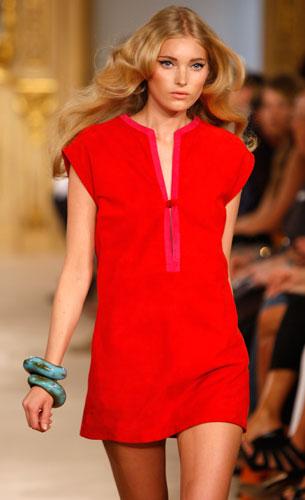Simonetta Ravizza: Mini abito rosso