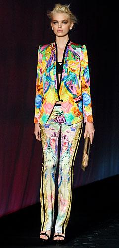 Roberto Cavalli: Completo giacca pantalone fantasia