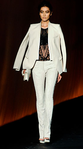 Roberto Cavalli: Completo giacca pantalone - pochette