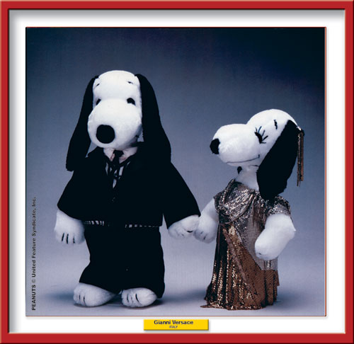 I grandi stilisti vestono… Snoopy!