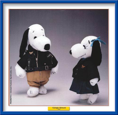 Armani per Snoopy